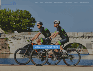cycleclassictours.com screenshot