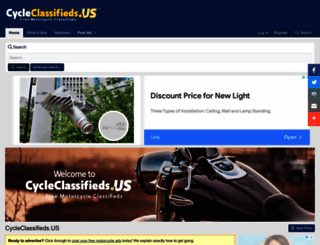 cycleclassifieds.us screenshot