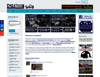 cyclefish.com screenshot