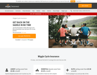 cycleinsurance.wiggle.co.uk screenshot