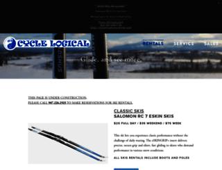 cyclelogicalhomer.com screenshot