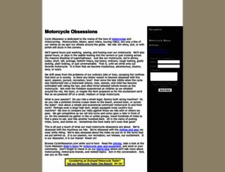 cycleobsession.com screenshot
