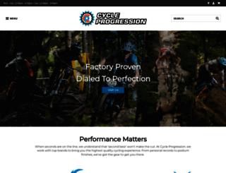 cycleprogression.com screenshot