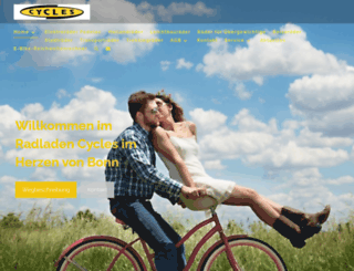 cycles-bonn.de screenshot