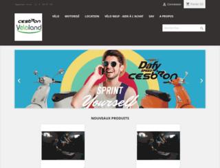 cyclescesbron.fr screenshot