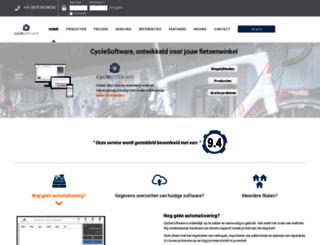 cyclesoftware.nl screenshot