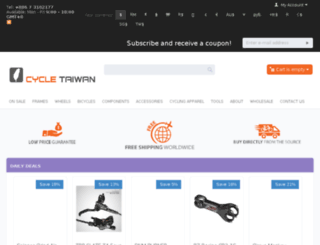 cycletaiwan.com screenshot