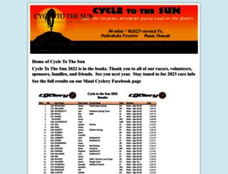 cycletothesun.com screenshot