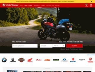 cycletrader.com screenshot