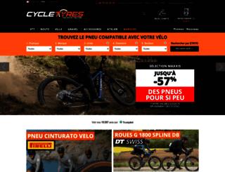 cycletyres.fr screenshot