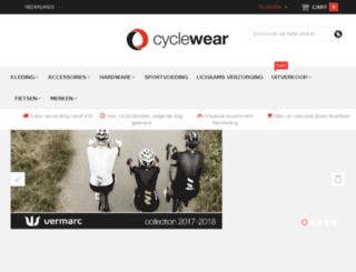 cyclewear.nl screenshot