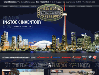 cycleworldsuperstore.com screenshot