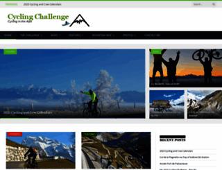 cycling-challenge.com screenshot