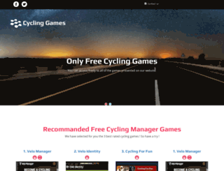 cycling-games.com screenshot