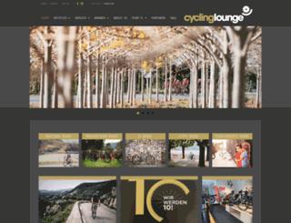 cycling-lounge.ch screenshot