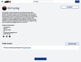 cycling.appstate.edu screenshot