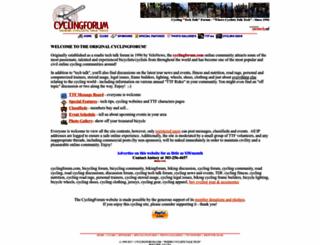 cyclingforum.com screenshot