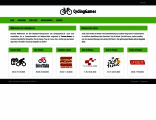 cyclinggames.de screenshot