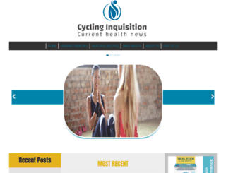cyclinginquisition.com screenshot