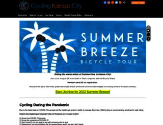 cyclingkc.clubexpress.com screenshot