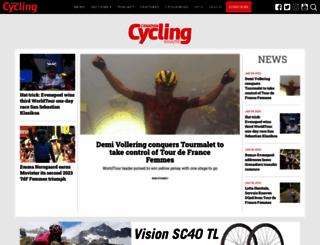 cyclingmagazine.ca screenshot
