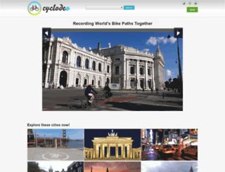 cyclodeo.com screenshot