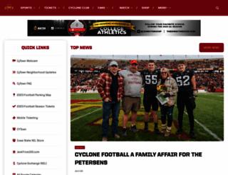 cyclones.com screenshot