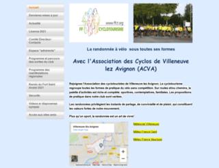 cyclosvilleneuve30.monsite-orange.fr screenshot