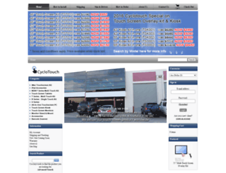 cyclotouch.com.au screenshot