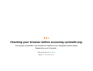 cyclowiki.org screenshot
