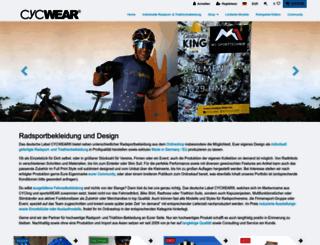 cycwear.de screenshot
