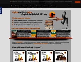 cyfroteka.pl screenshot