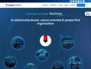 cygnet-infotech.com screenshot