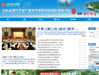 cyjstx.sdny.gov.cn screenshot