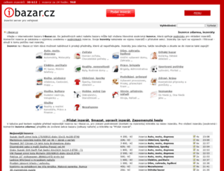 cyklobazar.i-bazar.cz screenshot
