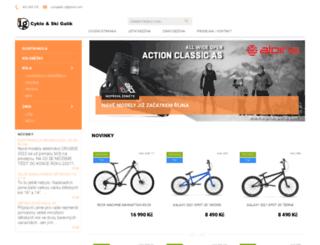 cyklogalik.cz screenshot