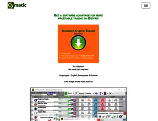 cymatic.co.uk screenshot
