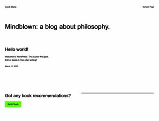 cyndimarie.com screenshot