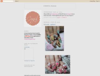 cynfulnails.blogspot.com screenshot