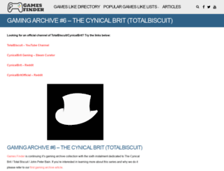 cynicalbrit.com screenshot