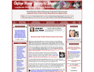 cyns-home-biz.com screenshot