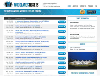 cynthia.woodlandspavilion.net screenshot
