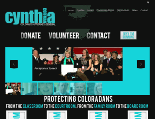 cynthiacoffmanforag.com screenshot