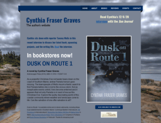 cynthiafrasergraves.com screenshot