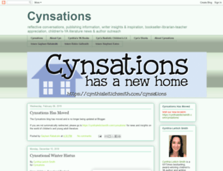 cynthialeitichsmith.blogspot.com screenshot