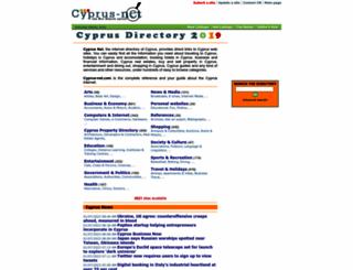 cyprus-net.com screenshot