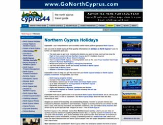cyprus44.com screenshot