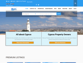 cyprusanytime.com screenshot