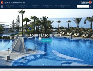 cyprusbusinesshotels.com screenshot
