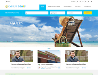 cyprusdeals.net screenshot